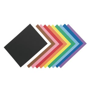 Assorted Colors Riverside Construction Paper - 12