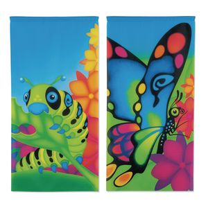 Environments® Caterpillar To Butterfly Banners