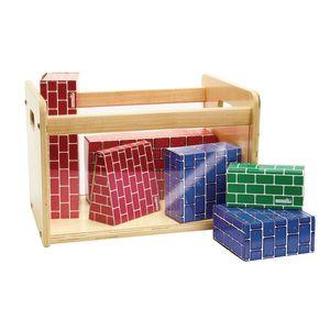 Environments® Toddler Easy View Birch Single Bin Storage Center