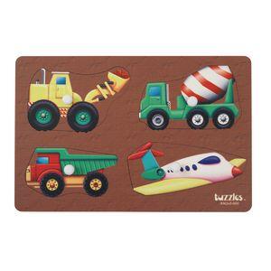 Knob Puzzle - Transportation