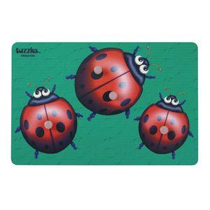 Knob Puzzle - Lady Bug