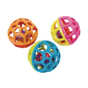 Baby Toy, Easy-Grasp, Bounce 'n' Roll Balls - Set of 3
