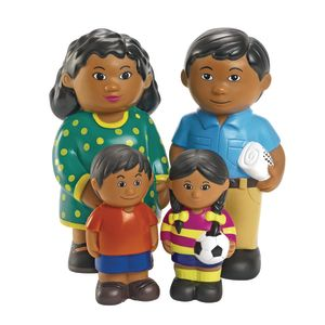 Excellerations® Soft Family Dolls Hispanic