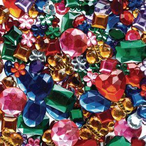 Colorations® Glittering Rhinestones Craft Jar