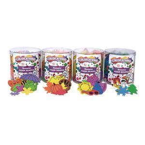 Seasons Foam Shapes - Set of 4 Buckets