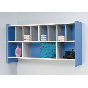 Blue Diaper Wall Storage