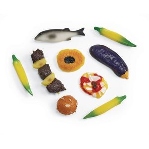 African Food Set - 9 Pieces