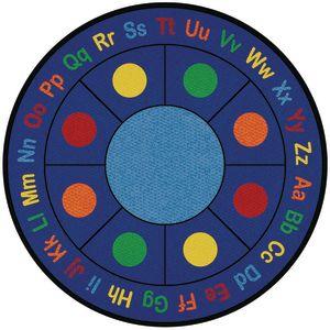 ABC Dots Carpet - 6'6
