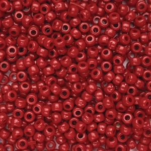 Colorations® Red Pony Beads - 1/2 lb.