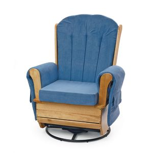 Wood Glider Swivel Rocker