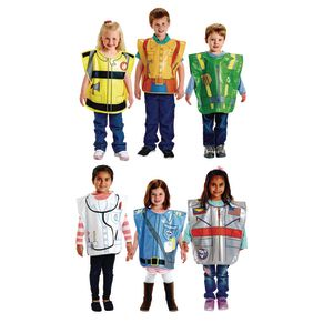 Excellerations® Brawny Tough Costumes Set 1 - Set of 6