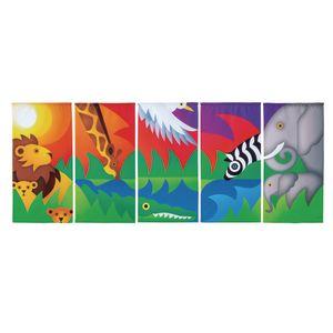 Environments® Savanna Panorama Banners
