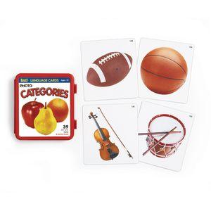 Categories Photo Language Cards - Set of 39