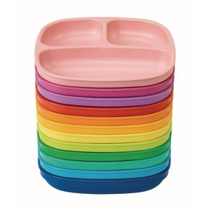 Environments® Dozen Rainbow Plates