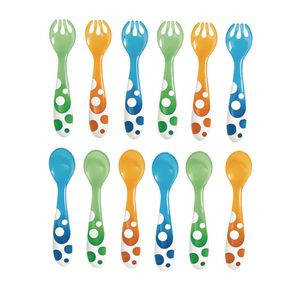 Rounded Forks & Spoons - Set of 12