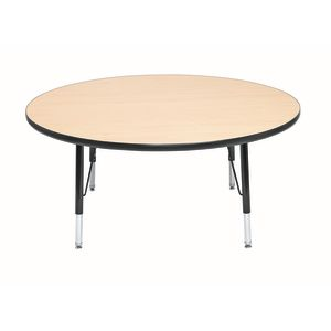 "Wood Top 22-30""H, 48"" Round Scholar Craft™ Activity Table"