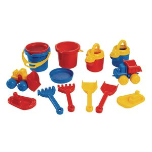 Toddler Sand & Water Set - 14 Pieces