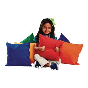 "12"" Bright Pillows - Set of 6 by Environments"