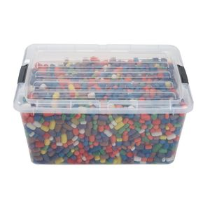 Super Puffs® Container, 3,000 pieces of Mini & Regular Size Puffs