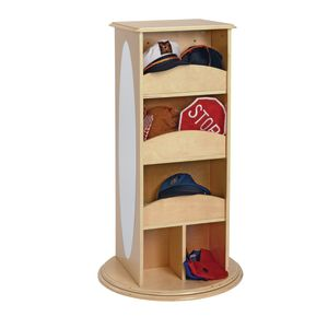 Rotating Dress-Up Storage Unit