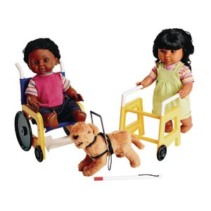 Special Needs Equipment for Toddler Dolls - Set of 3