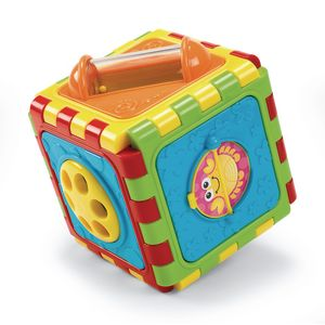 Infant Cute Cube Discovery Toy