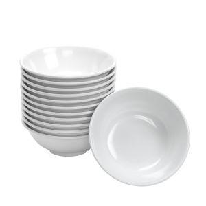 Melamine Footed Serving Bowls 24 oz. - Set of 12