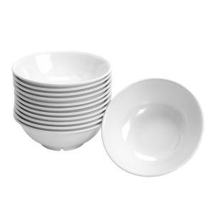 Melamine Footed Serving Bowls 36 oz. - Set of 12