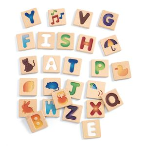 Alphabet Tracing Tiles