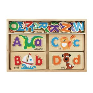 DBL SIDED ABC PICTURE BOARD