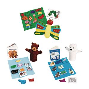 Eric Carle Books with Props
