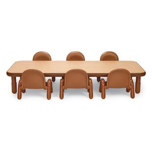 Angeles® BaseLine® Rectangular Toddler Table & Chair Set - 72
