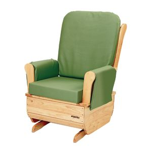 Premium Easy-Clean Glider Rocker- Sage Green
