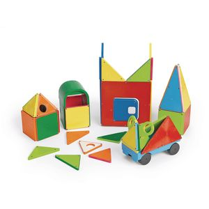Magna-Tiles® Solid Colors- 48 Piece DX Set