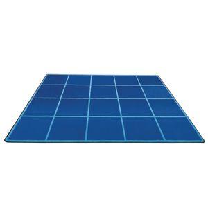 Grid Seating Carpet & 20 Squares Set