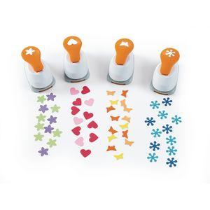 Fiskars® Fun Shapes Punches - Set of 4