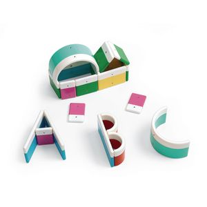 Magnetized Alphabet Building Blocks