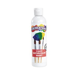 Colorations® Liquid Watercolor™ Paint, White - 8 oz.