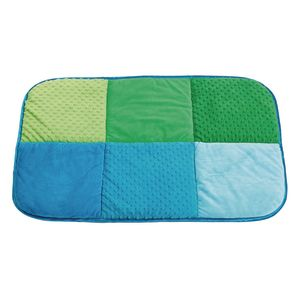 Environments® Pattern Play Quilted Mat Blue/Green
