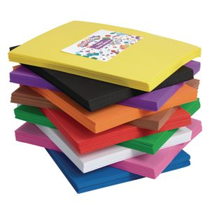 Single Color Foam Sheets - 10 Pieces