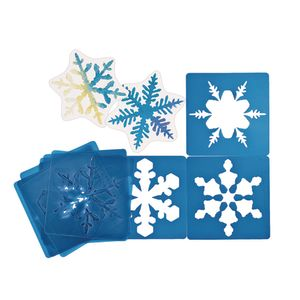 Super Snowflakes Stencils - Set of 12