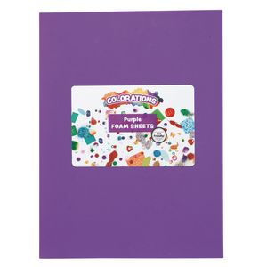 Purple Foam Sheets - 10 Pieces