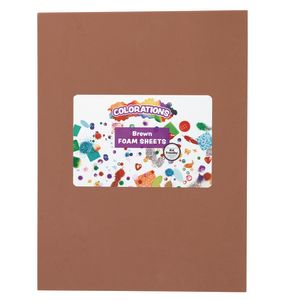 Brown Foam Sheets - 10 Pieces