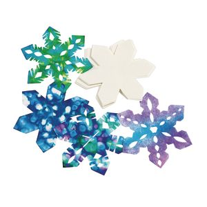Liquid Watercolor™ Snowflakes - Set of 100