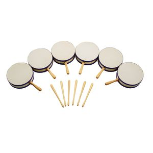 Excellerations® Hand Tom Tom - Set of 6