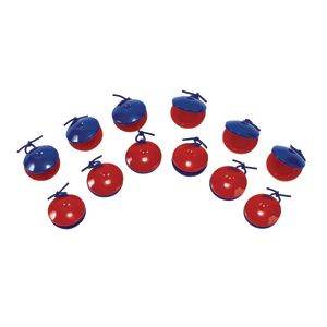 Hand Castanets - Set of 6