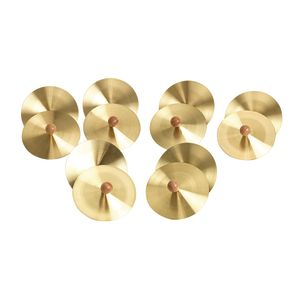Brass Cymbals - Set of 6