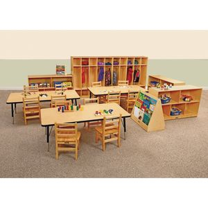 Jonti-Craft® Birch and Hardwood Preschool Bundle - Set of 21 Pieces