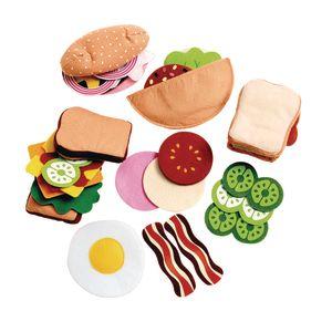 Felt Sandwich Making Set - 33 Pieces