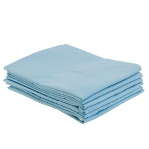 Fitted Toddler Cot Sheets - Blue, Set of 6